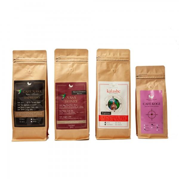 10 % Rabatt - Probierpaket Espresso-Bohnen