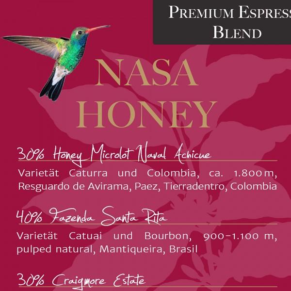 CAFÉ NASA HONEY Espresso, 350 g