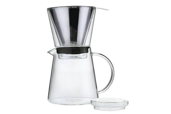 Zassenhaus Kaffeezubereiter Coffee Drip, incl. 250g CAFÉ KOGI Aluna gemahlen