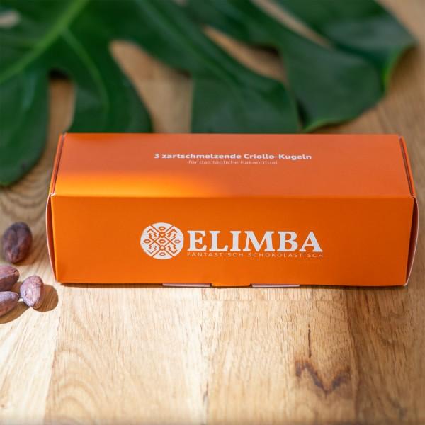 Elimba Criollo Kakao, 3 oder 9 Kugeln