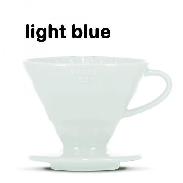 "Hario Handfilter V60 ""Colour Edition"" light blue Größe 02"