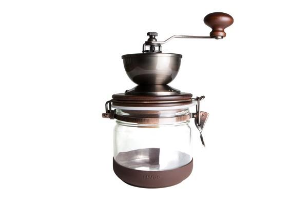 Kaffeemühle Hario Canister + 250g CAFÉ KOGI Aluna