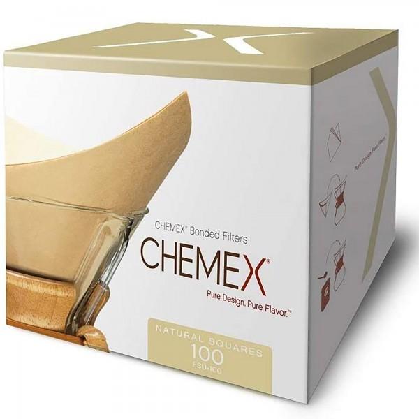 Filterpapier Chemex 6/8/10 Tassen, eckig