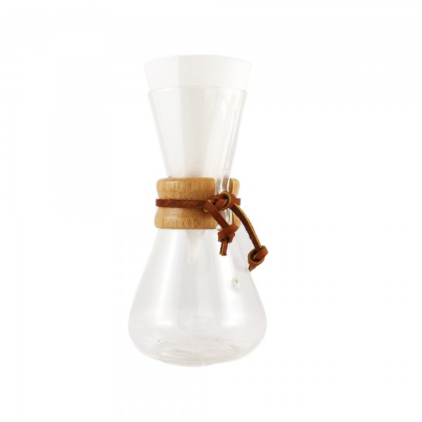 SET 3er-Chemex + 250 g Kaffee + 100 Filter