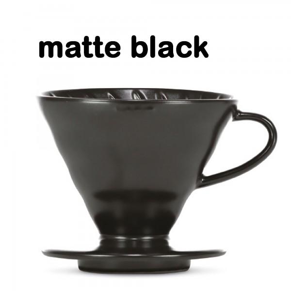 "Hario Handfilter V60 ""Colour Edition"" matte black Größe 02"