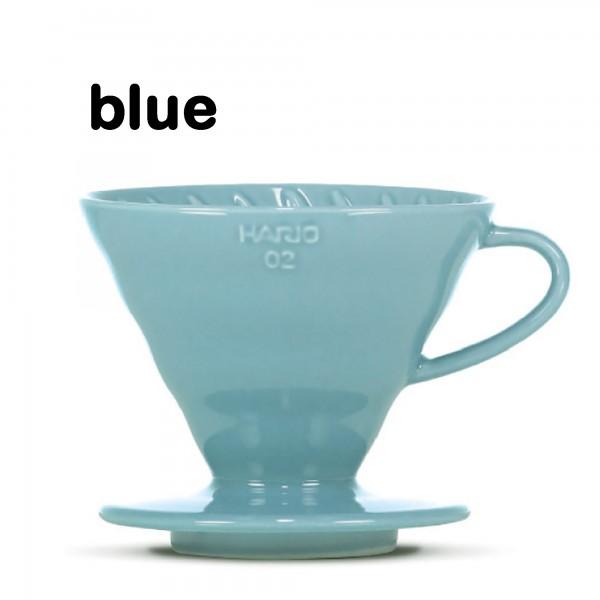"Hario Handfilter V60 ""Colour Edition"" blue Größe 02"