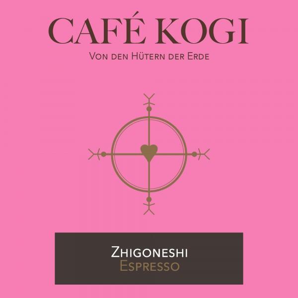 """CAFÉ KOGI """"ZHIGONESHI"""" Espressoröstung"""