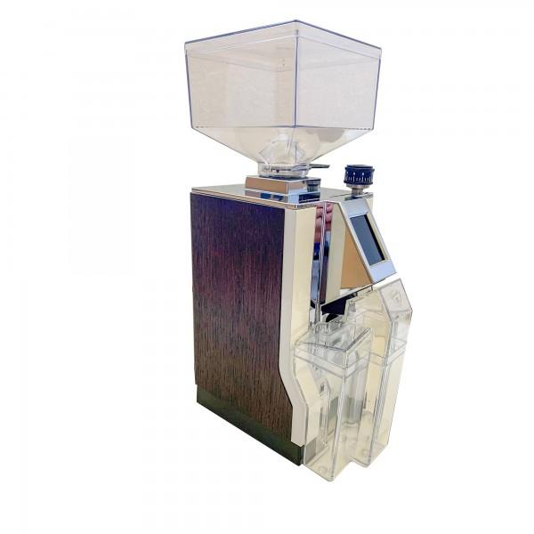 Mignon Brew Pro 16 CR weiß Texture, dunkles Holz (Ausstellung) incl. 250 g CAFÉ KOGI Aluna