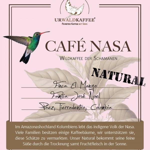 CAFÉ NASA NATURAL Kaffee, Microlot von José Noel