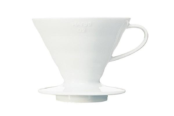 Hario Handfilter V60 Keramik weiß