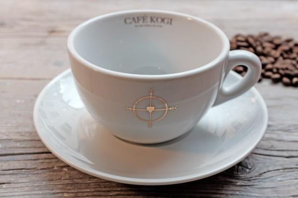 Milchkaffee-Tasse 1, 2 4 oder 6 Stück