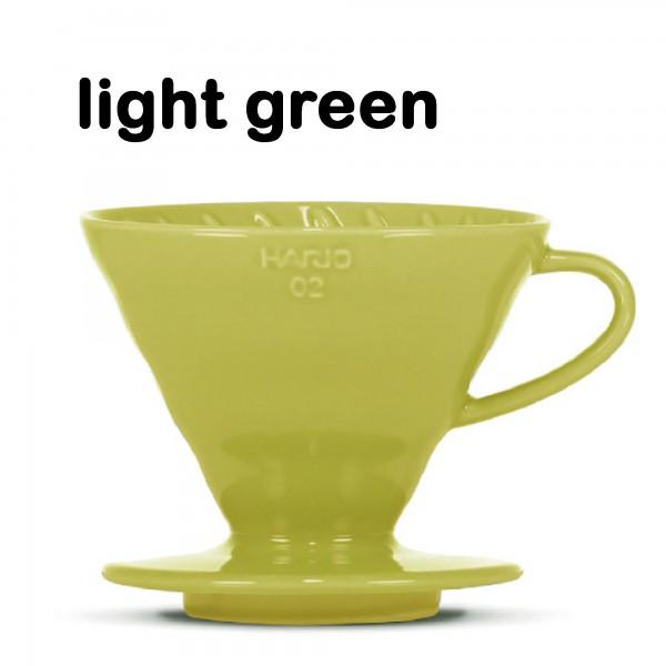 "Hario Handfilter V60 ""Colour Edition"" light green Größe 02"