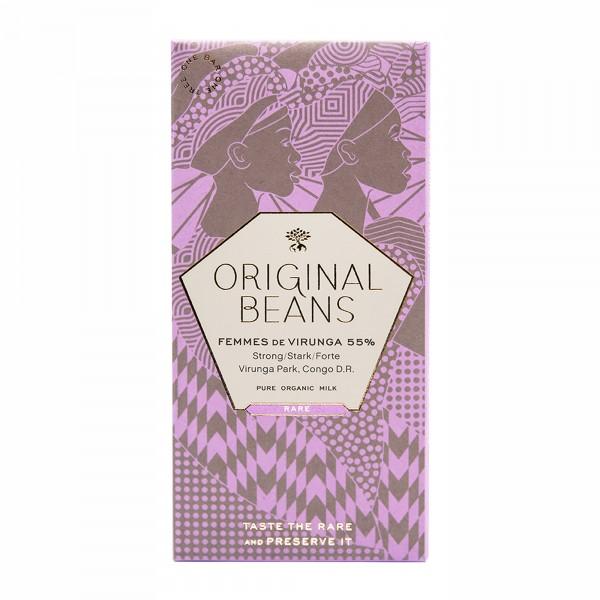 Edelschokolade Femmes de Virunga 55% Kakao